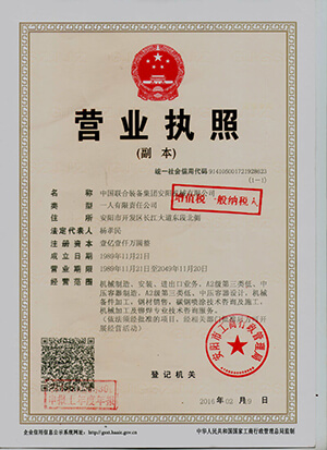 company business license small version