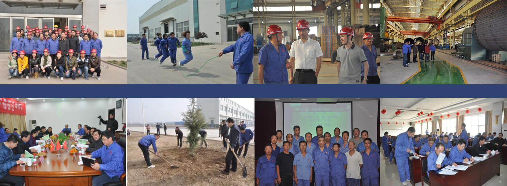 multiple activities in Anyang Machinery co., ltd.