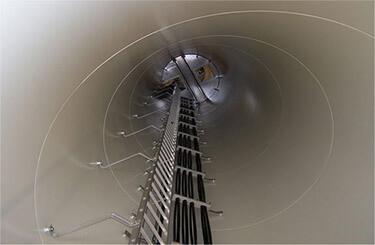 Wind Turbine Parts And Wind Tower Internals Wind Turbine