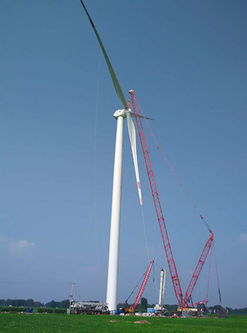 wind turbine tower for sale