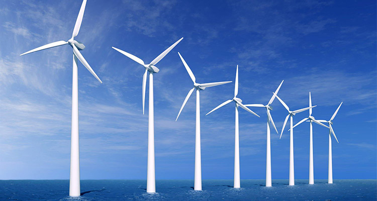beautiful wind farm image