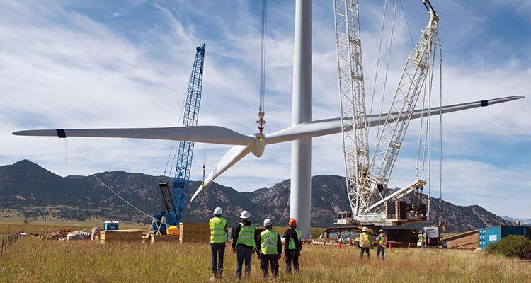 Africa wind farm
