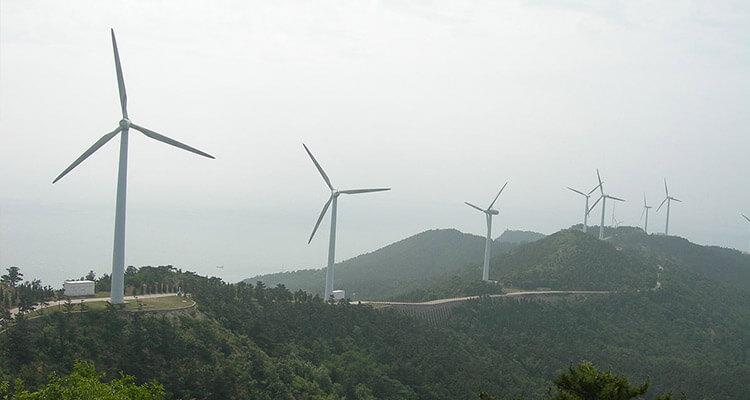 Chinese wind farm