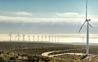 a picture of a wind farm in india